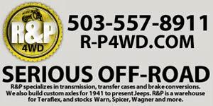 R & P 4WD