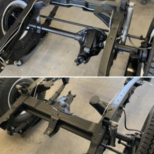 1962 Willys Truck Frame Restoration Pics