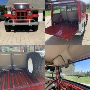 Coastal joes 1962 Willys station wagon